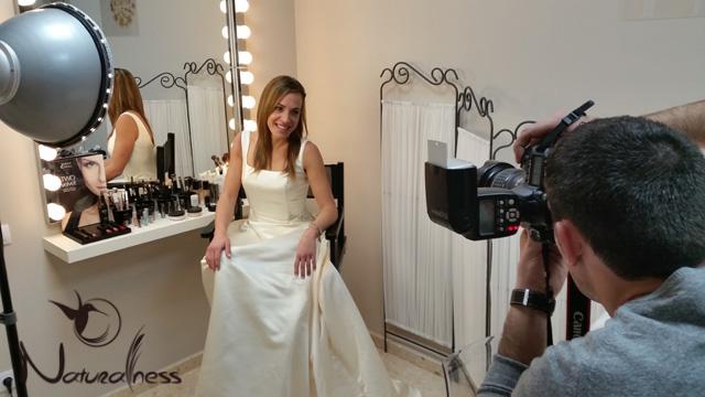 Preparando el catálogo novias 2015