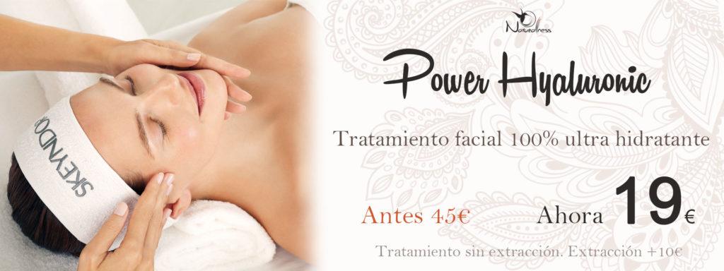 Oferta tratamiento facial hidratante en Sabadell