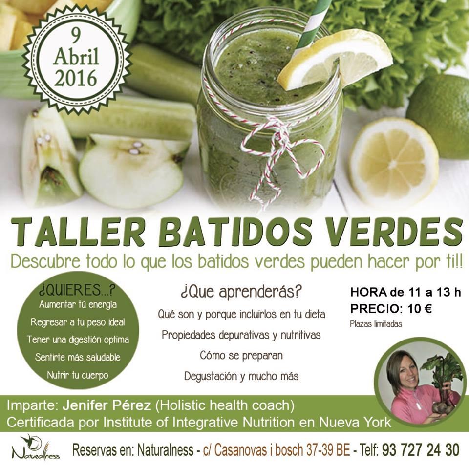 Batidos verdes Sabadell