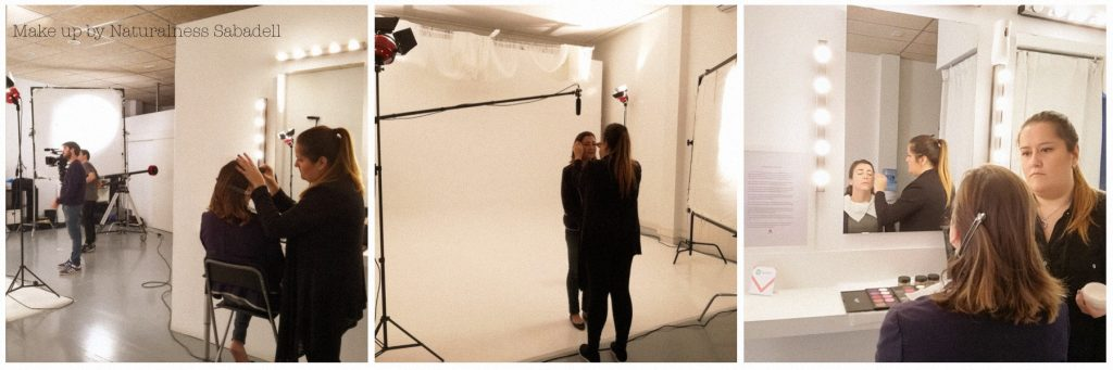 Maquilladora profesional rodajes Barcelona