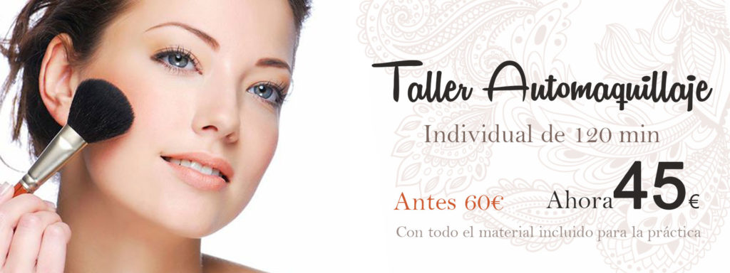 Taller automaquillaje personalizado 2h