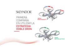 Slim drone Skeyndor acción doble dron anticelutico y reafirmante